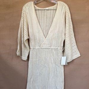 TULAROSA IVORY KNIT DRESS